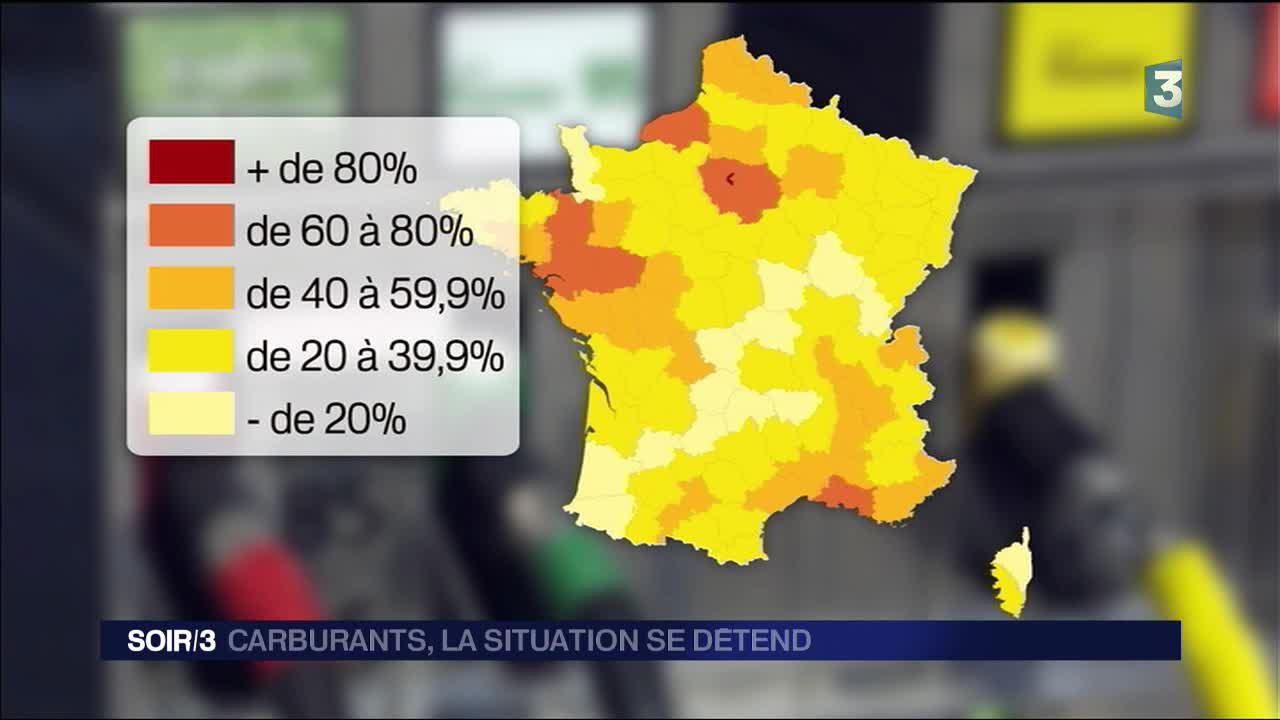 Carburants , les stations-service font progressivement le plein